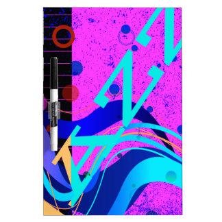 Musikalischer Jazz-Art-Hintergrund Memoboard