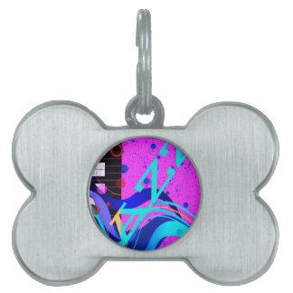 Musikalischer Jazz-Art-Hintergrund Tiermarke