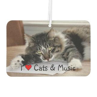 Musikalischer Katzen-Auto-Lufterfrischer Lufterfrischer