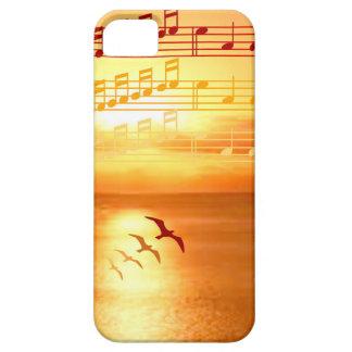Musikalischer Mobiltelefon-Kasten der Schutzhülle Fürs iPhone 5