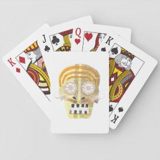 Musikalischer Schädel-Spielkarten Spielkarten