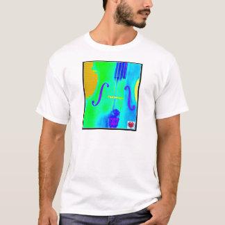 Musikalisches Lebenszeit-Cello T-Shirt