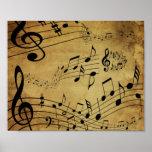 Musikanmerkung Plakat