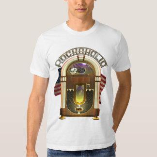 Musikautomat lustiges Rockaholic T-Shirt