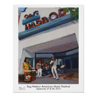 Musiker am Senkungs-Hafen-Kino Poster