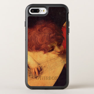 Musiker-Engel durch Rosso Fiorentino OtterBox Symmetry iPhone 8 Plus/7 Plus Hülle