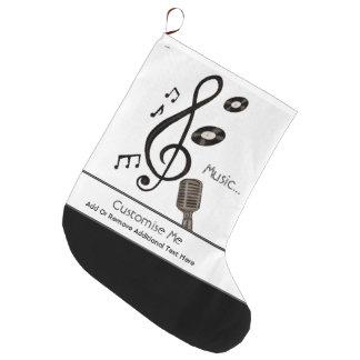 Musikfreund Großer Weihnachtsstrumpf
