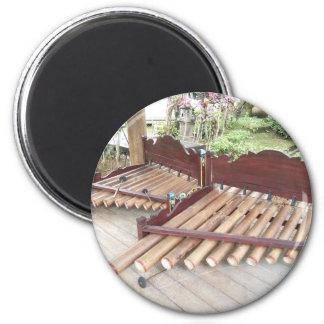 Musikinstrumente Balis Runder Magnet 5,1 Cm