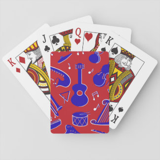 Musikinstrumente Spielkarten