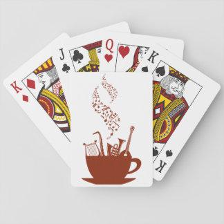 Musikinstrumente und Anmerkungs-Spielkarten Spielkarten