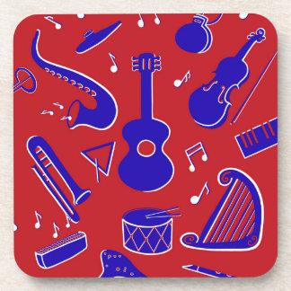 Musikinstrumente Untersetzer