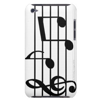 Musiknoten iPod Touch Hülle