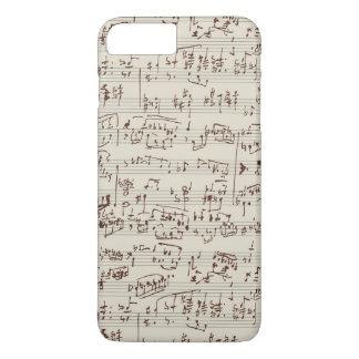 Musiknoten iPhone 8 Plus/7 Plus Hülle