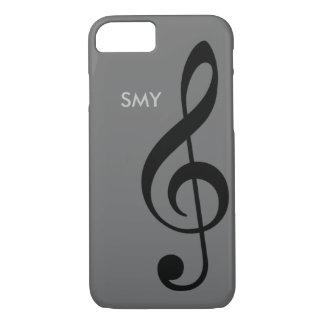 Musiksymbol (dreifacher Clef) mit iPhone 8/7 Hülle