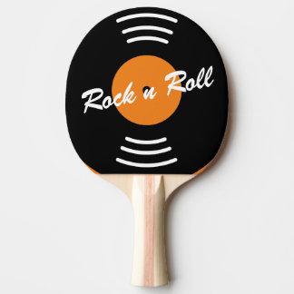 Musikvinylaufzeichnungs-Tischtennis-Klingeln pong Tischtennis Schläger