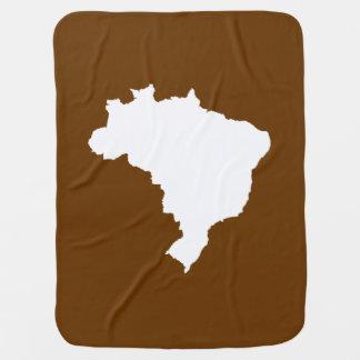 Muskatnuss festliches Brasilien bei Emporio Moffa Babydecke