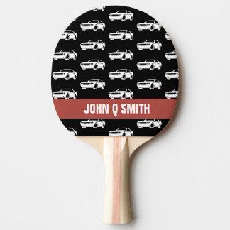 Muskel-Auto-Auto-Schlosser•Gewohnheit Tischtennis Schläger