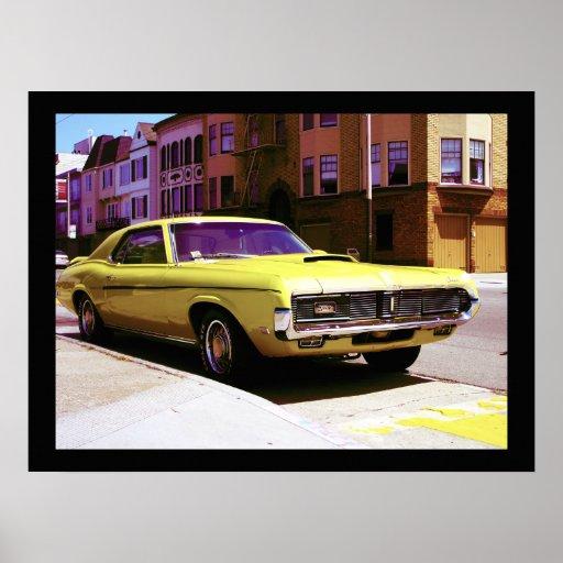 Muskel-Auto, San Francisco Posterdruck