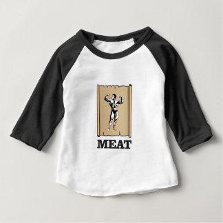 Muskelmannfleisch ja baby t-shirt