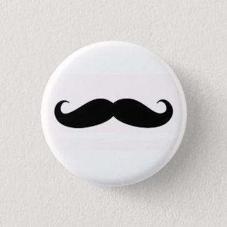 Mustachify Stift Runder Button 3,2 Cm
