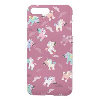 Mustachio Unicornio iPhone 8 Plus/7 Plus Hülle