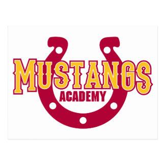 Mustang-Akademie Postkarte