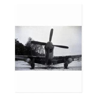 Mustang-Ardennenoffensive P 51 Postkarte