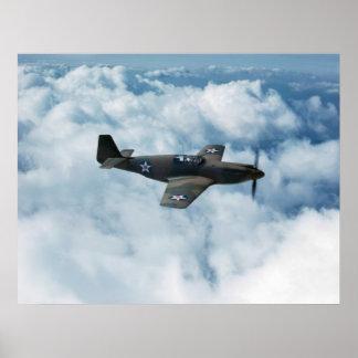 Mustang P-51 Poster