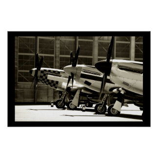 Mustang-Reihe Poster