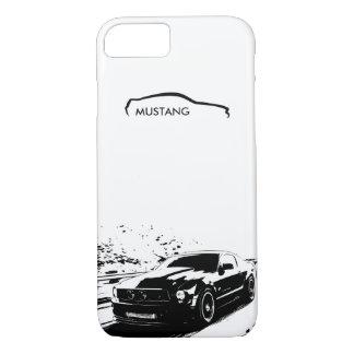 """Mustang-Rollen geschossen - """"addieren Sie Ihren iPhone 8/7 Hülle"""