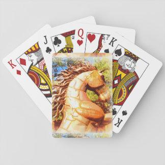 Mustang Stallion Spielkarten