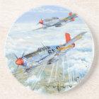 Mustang Zweiter Weltkrieg Tuskegee Flieger-P-51 Getränkeuntersetzer