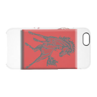Mustangs Durchsichtige iPhone 6/6S Hülle