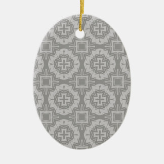 Muster 8773Grey Keramik Ornament
