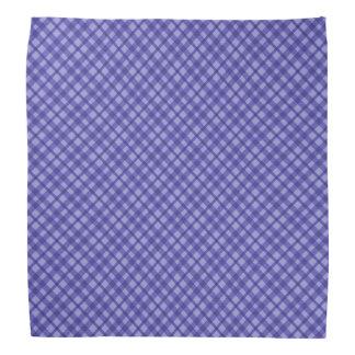 Muster-Blau Bandana des schottischen Tartanbüffels Kopftuch