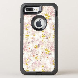 Muster, das wunderliche Tiere anzeigt OtterBox Defender iPhone 8 Plus/7 Plus Hülle