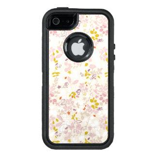Muster, das wunderliche Tiere anzeigt OtterBox iPhone 5/5s/SE Hülle