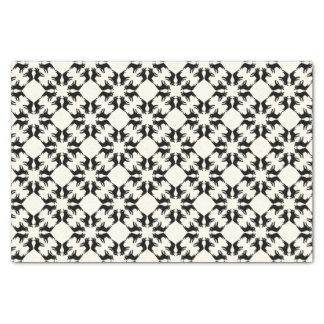 Muster der französischen Bulldogge Seidenpapier