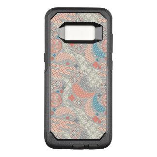 Muster der japanischen Art. Illustration OtterBox Commuter Samsung Galaxy S8 Hülle