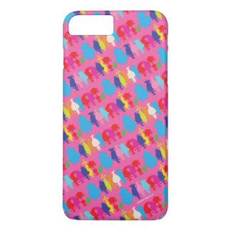 Muster der Schleppangel-| Hugfest iPhone 8 Plus/7 Plus Hülle
