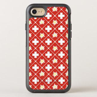 Muster der Schweiz Edelweiss OtterBox Symmetry iPhone 8/7 Hülle