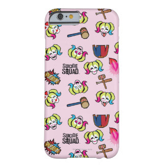 Muster der Selbstmord-Gruppen-| Harley Quinn Emoji Barely There iPhone 6 Hülle