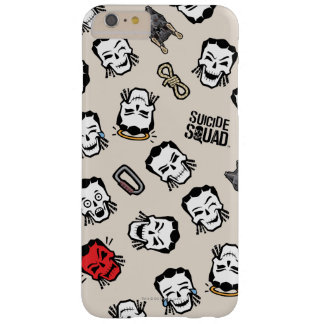Muster der Selbstmord-Gruppen-  Slipknot Emoji Barely There iPhone 6 Plus Hülle