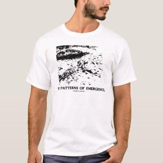 Muster des Auftauchens (dalmatinische optische T-Shirt
