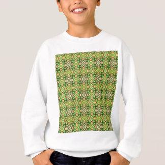 Muster des Frühlings-Blätter und des glücklichen Sweatshirt
