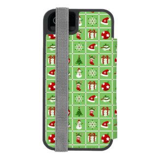Muster des neuen Jahres. Farbbilder. 2018. Incipio Watson™ iPhone 5 Geldbörsen Hülle
