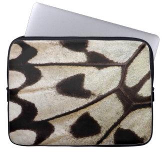 Muster des tropischen Schmetterlinges Laptop Sleeve