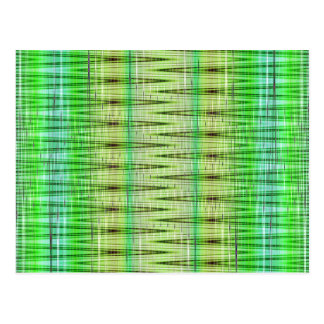 Muster gree Nr. 6 entworfen durch Tutti Postkarte