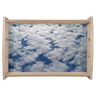 Muster im Himmel durch Shirley Taylor Serviertablett