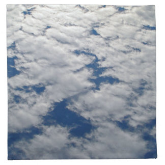 Muster im Himmel durch Shirley Taylor Serviette